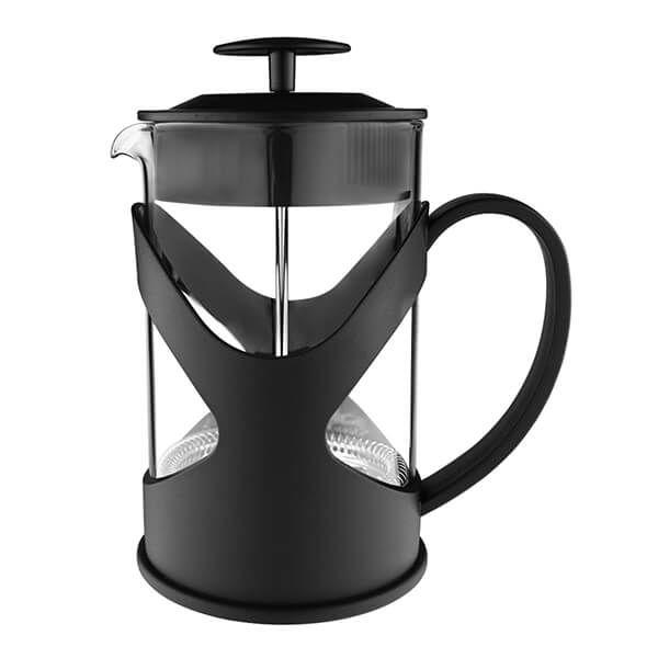 Grunwerg Black 600ml 5-Cup Cafetiere