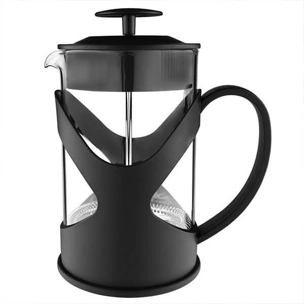 Grunwerg Black 1L 8-Cup Cafetiere