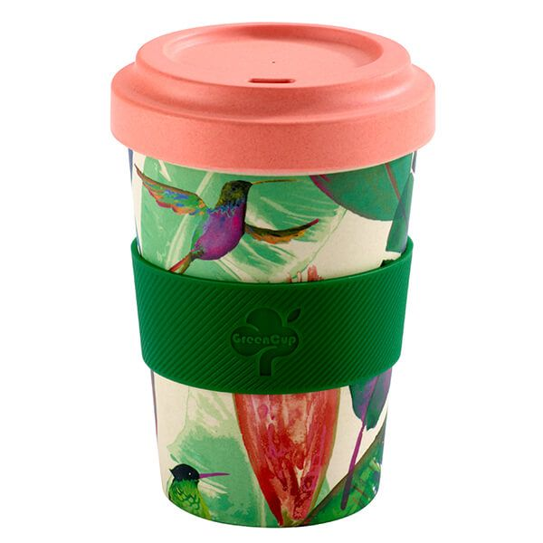 GreenCup by Arthur Price Paradise Bamboo Fibre Takeaway Cup