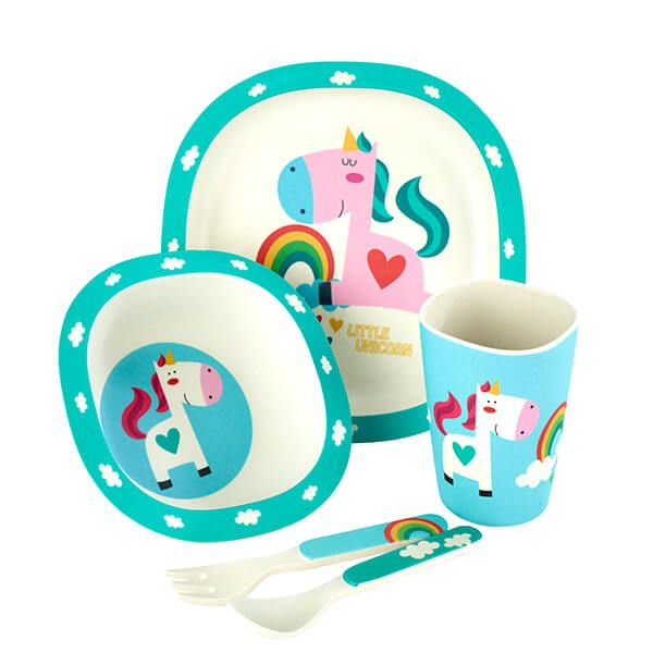 Arthur Price Unicorn 5 Piece Bamboo Childs Set