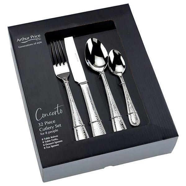 Arthur Price Concerto 32 Piece Cutlery Set