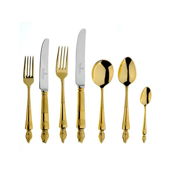 Clive Christian Empire Flame All Gold 125 Piece Suite