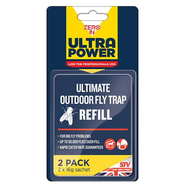 Zero In Ultra Power Ultimate Outdoor Fly Trap Bait Refill