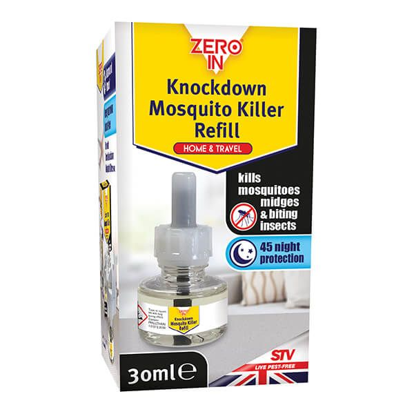 Zero In Knockdown Mosquito Killer Re-fill 30ml