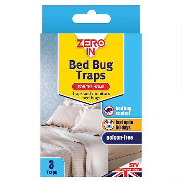Zero In Bed Bug Traps Pack Of 3