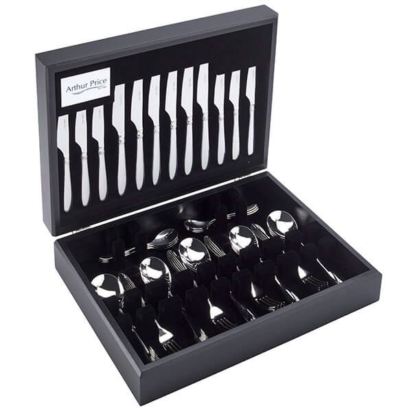 Arthur Price Signature Henley 58 Piece 8 Person Canteen Set FREE Extra 8 Tea Spoons