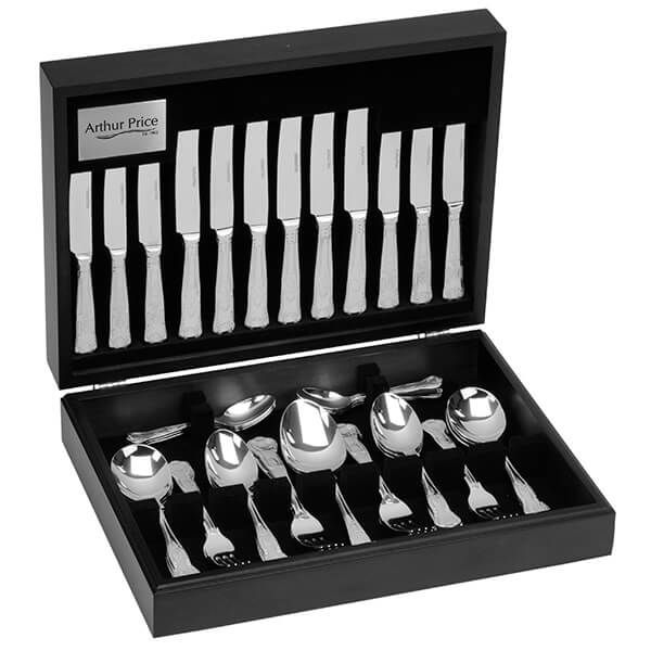 Arthur Price Classic Kings 124 Piece Canteen Set FREE Extra 12 Tea Spoons