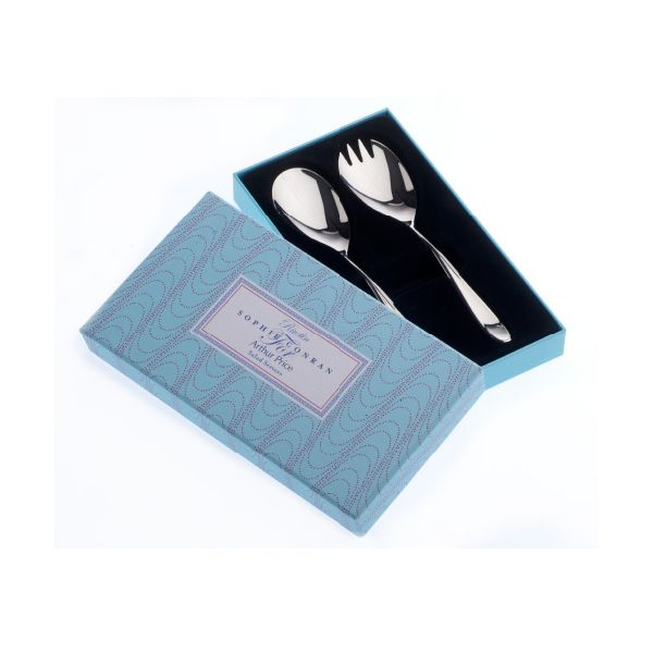 Arthur Price Sophie Conran Rivelin Pair Of Salad Servers Gift Box