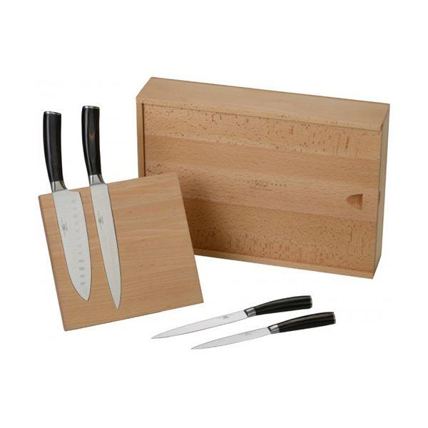 Arthur Price Sophie Conran Rivelin 4 Piece Knife Block Set