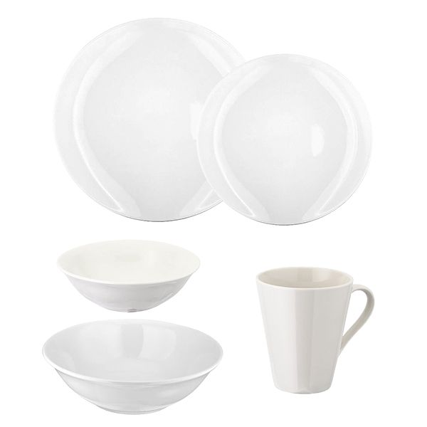 Judge Table Essentials White Tableware Set
