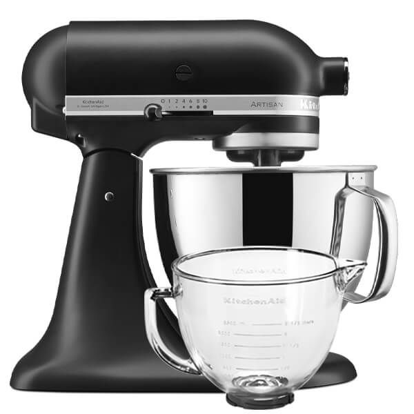 KitchenAid Artisan Mixer 125 Matte Black With Free Gift