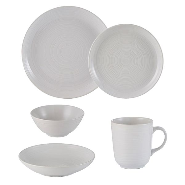 Mason Cash William Mason White Tableware Set