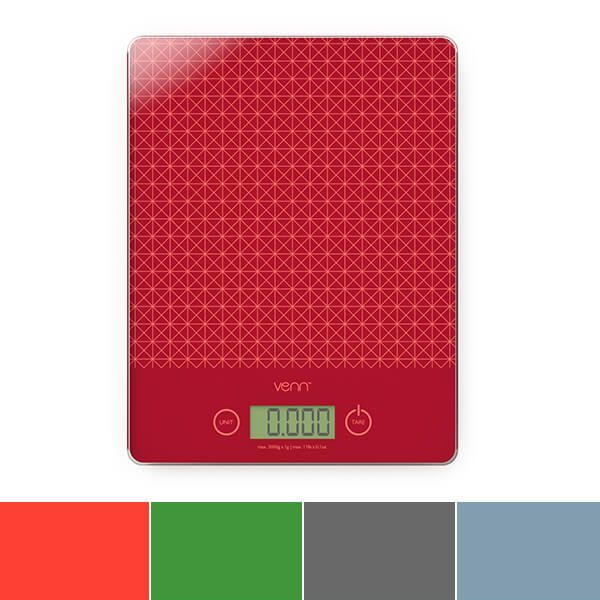 Venn Digital Kitchen Scales With Integrated Bowl Scraper