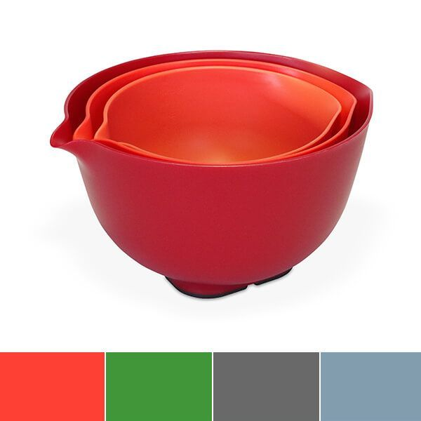 Venn Stacking Set Of 3 Mixing Bowls With Lid