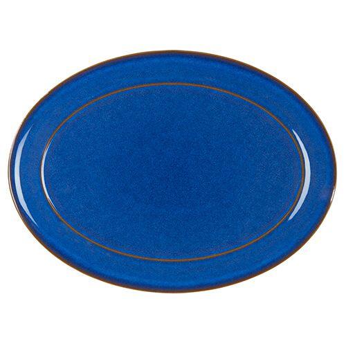 Denby Imperial Blue Oval Platter