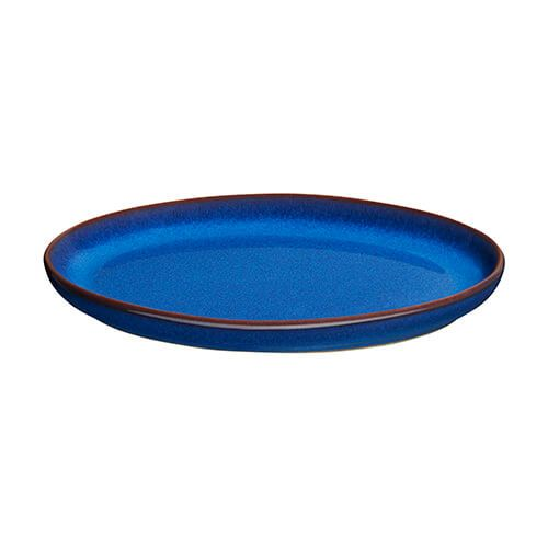 Denby Imperial Blue Small Oval Tray