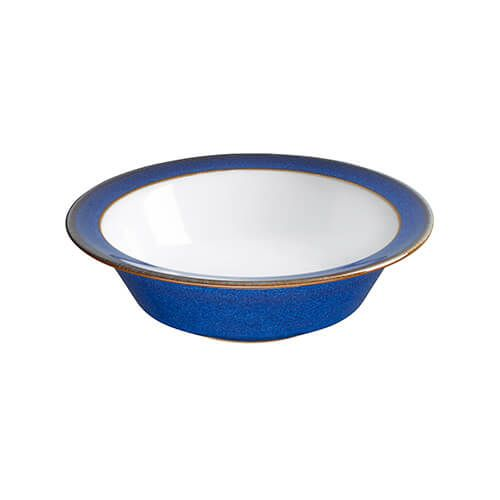 Denby Imperial Blue Small Rimmed Bowl