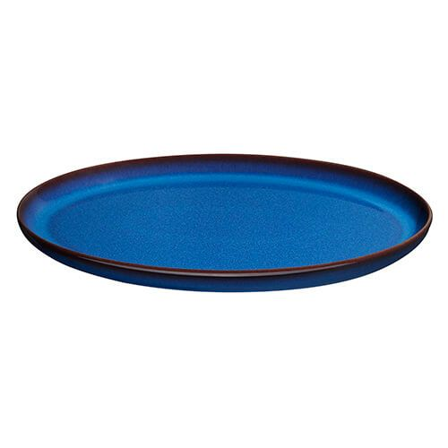 Denby Imperial Blue Medium Oval Tray