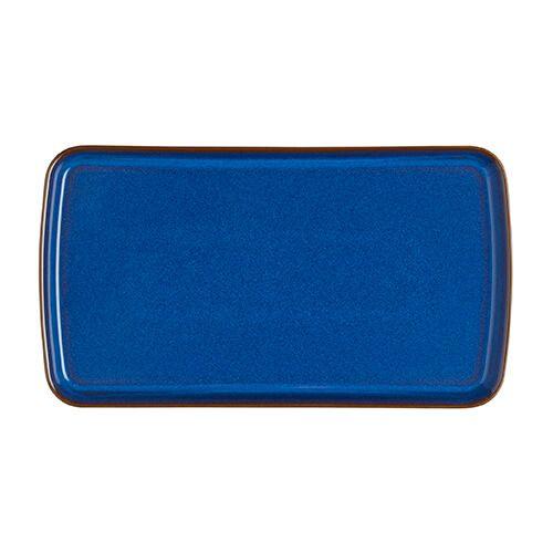 Denby Imperial Blue Small Rectangular Platter