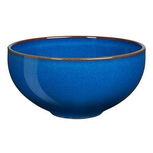 Denby Imperial Blue Ramen / Large Noodle Bowl