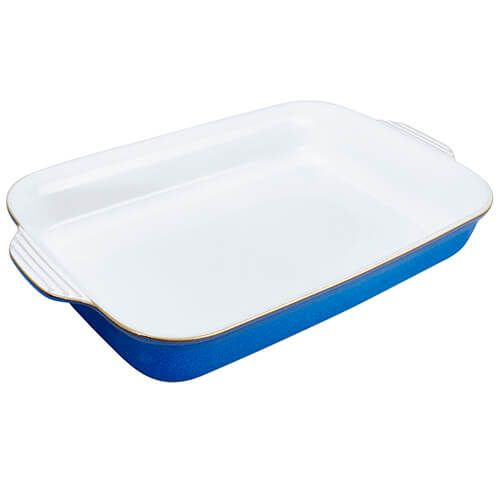 Denby Imperial Blue Large Rectangular Oven Dish