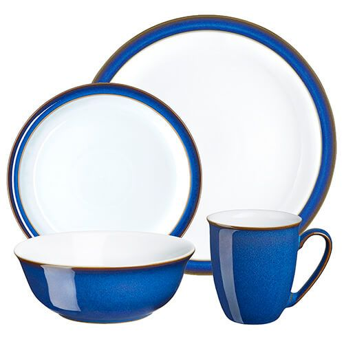 Denby Imperial Blue 16 Piece Set
