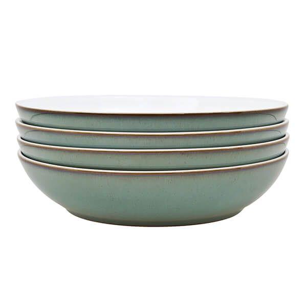 Denby Regency Green 4 Piece Pasta Bowl Set