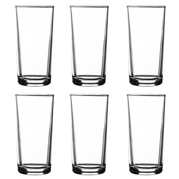 Ravenhead Essentials 260ml Set Of 6 Hiball Glasses
