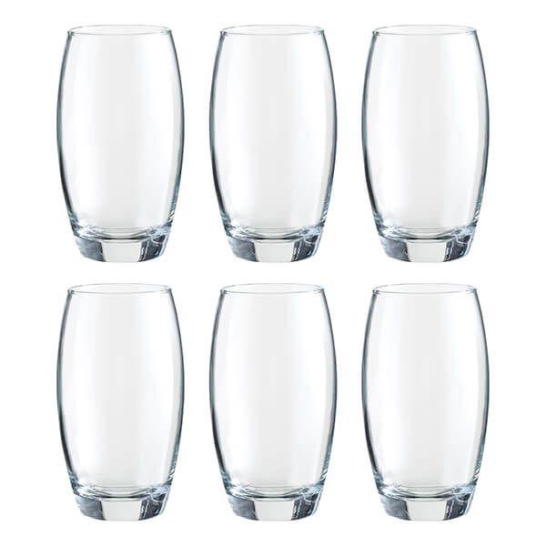 Ravenhead Mode 480ml Set Of 6 Hiball Glasses