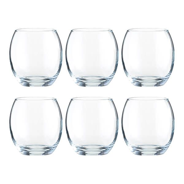 Ravenhead Mode 380ml Set Of 6 Mixer Glasses