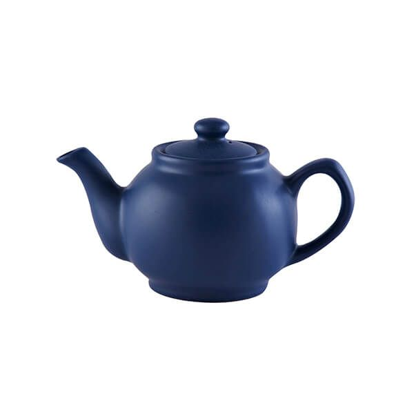 Price & Kensington Matt Navy Blue 2 Cup Teapot