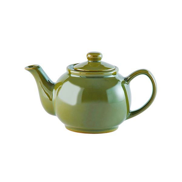 Price & Kensington Olive Green 2 Cup Teapot