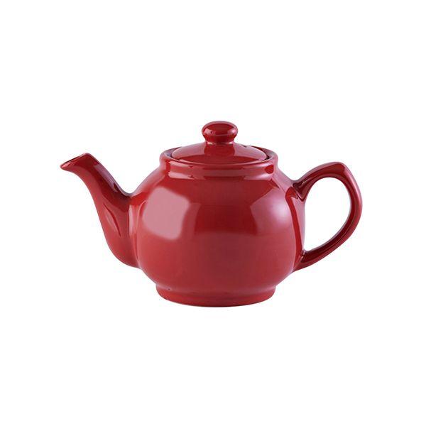 Price & Kensington Red 2 Cup Teapot