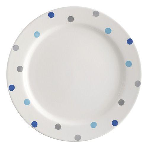 Price & Kensington Padstow Blue 26.5cm Dinner Plate