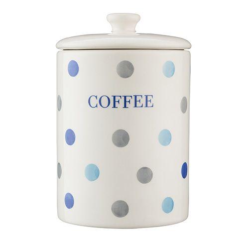 Price & Kensington Padstow Blue Coffee Storage Jar