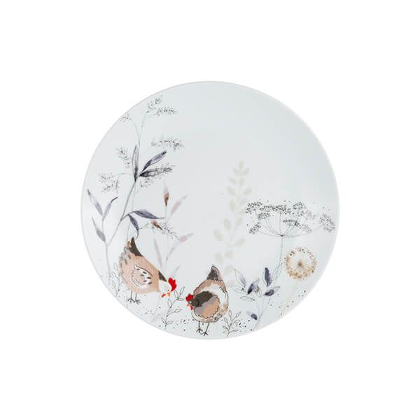 Price & Kensington Country Hens Side Plate 20.5cm
