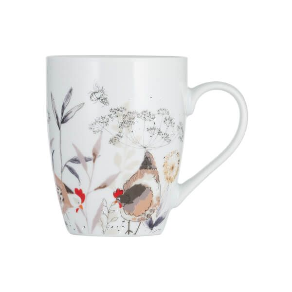 Price & Kensington Country Hens Mug 380ml