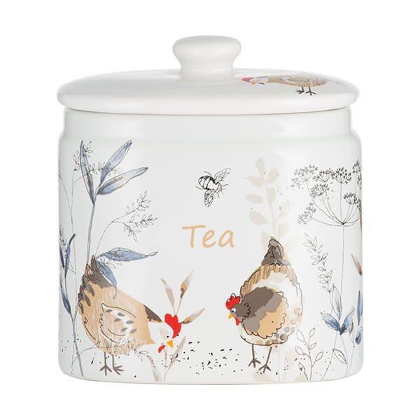 Price & Kensington Country Hens Tea Storage Jar