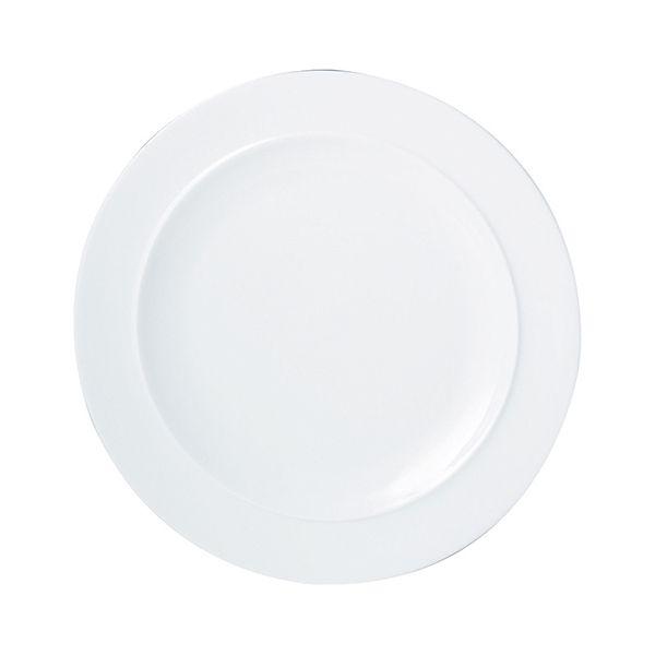 Denby White Dinner Plate