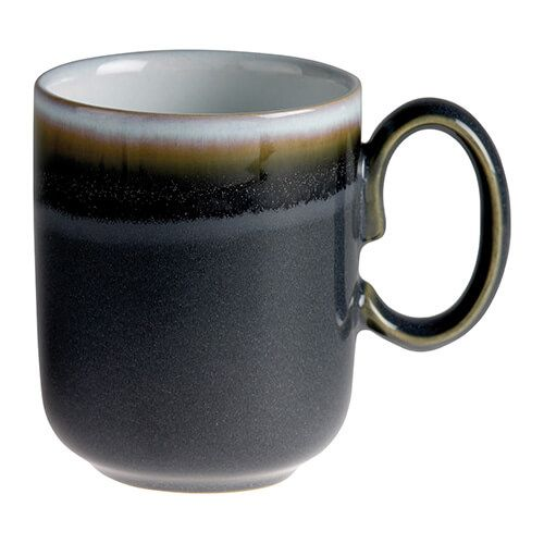 Denby Jet Grey Double Dip Mug