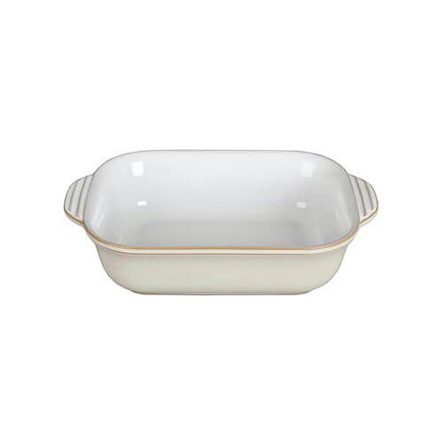 Denby Linen Small Rectangular Dish
