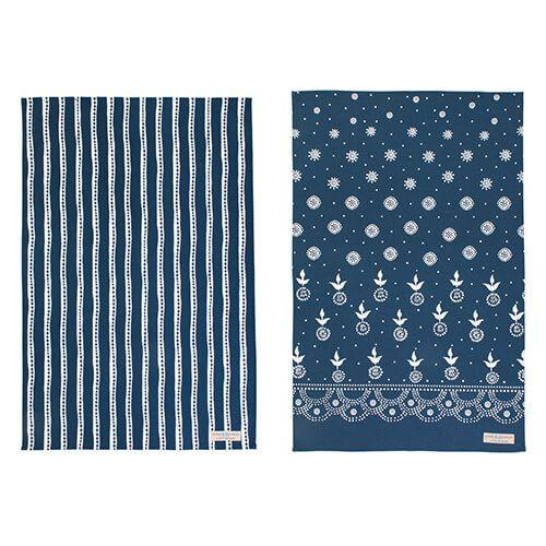 Sophie Conran Eszter Cotton Tea Towels Pack of 2
