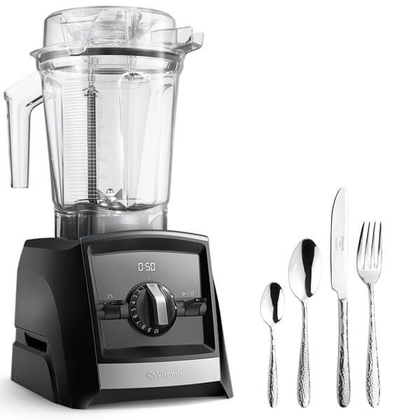 Vitamix A2500i Ascent Series Blender Black with FREE Gift