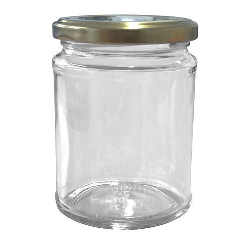Set Of Six 300ml Jam Jars & Lids