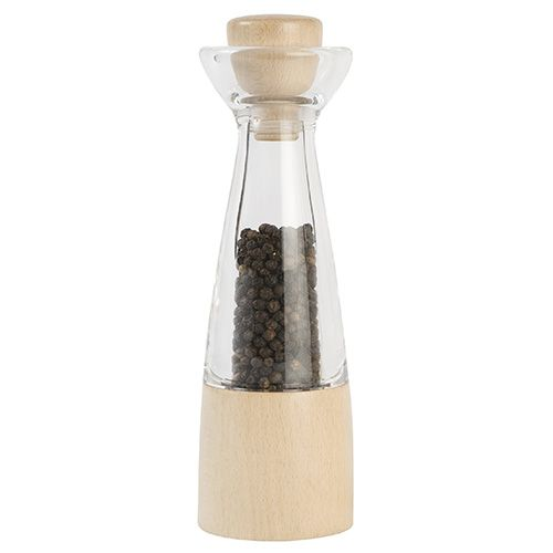 T&G CrushGrind Stockholm Beech and Acrylic Pepper Mill