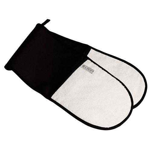 Le Creuset Black Double Oven Glove