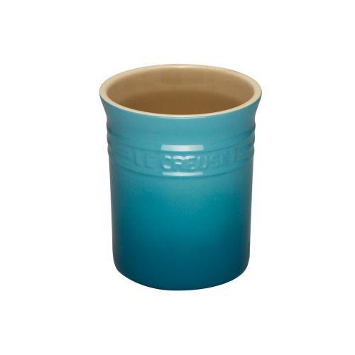 Le Creuset Teal Stoneware Small Utensil Jar
