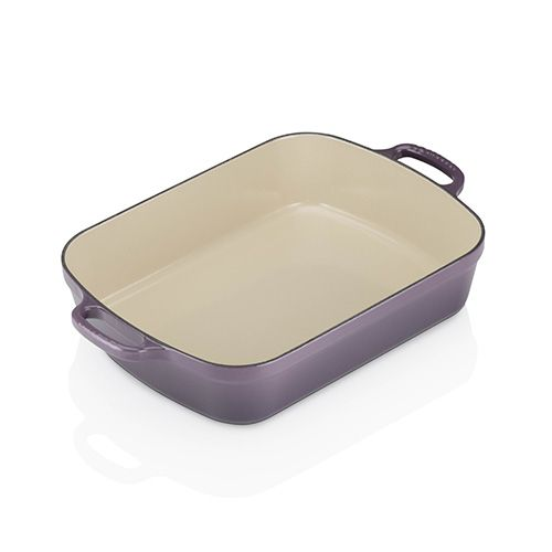 Le Creuset Signature Cassis Cast Iron 33cm Rectangular Roaster