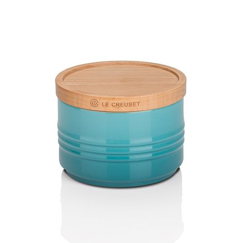 Le Creuset Teal Stoneware Small Storage Jar 3 for 2