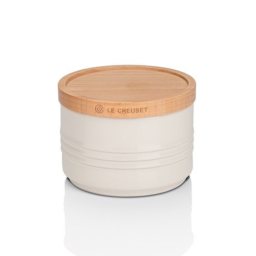 Le Creuset Almond Stoneware Small Storage Jar 3 for 2